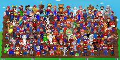 Super Mario 128 by DogmanSP on deviantART