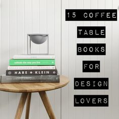 ... on Pinterest  Coffee Table Books, Staging and Dining Room Tables