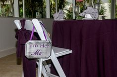 Wedding set-up at The Naples Beach Hotel & Golf Club