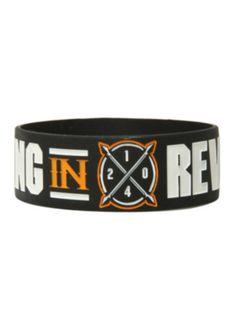 Falling In Reverse 2014 Logo Rubber Bracelet