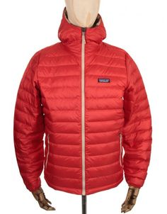 Patagonia Down Sweat Hooded Jacket - Cochineal Red £ 209.95