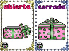 Opuestos, antónimos o contrarios, tarjetas para trabajar en clase II  Imagenes Educativas: comparte este material que ha sido realizado por la MaestraEstrella Leyva y ha sido compartido en Facebook: Star Creando (Star Leyva)...