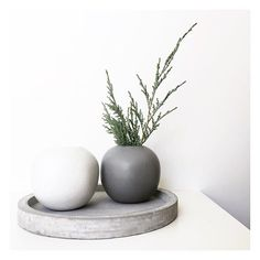 Walked into @duskaustralia today and spotted these vases on the sale shelf marked down to $5, and instantly grabbed them. When I went to the register they scanned at just $3! Day. Made.  #dusk #vase #pumice #kmart #kmartaus #duskcandles