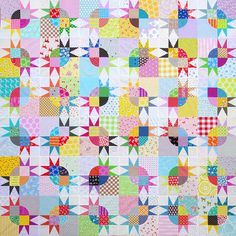 Work in Progress: Pickle Dish Variation Quilt | Red Pepper Quilts