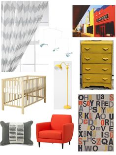 Orange & Yellow Room