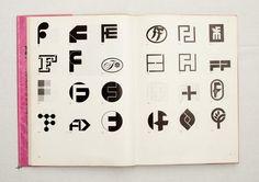 032.jpg (1600×1130) TRADE MARKS & SIMBOLS Volume 1: Alphabetical Designs   YASABURO KUWAYAMA #logo #design #Inspiration #graphic #shape #best #awesome #typography #best #pactice