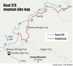 Road 370 offers rare high-country bike ride; Todd Lake road provides access to several loop possibilities