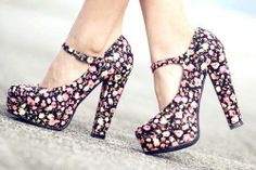 *shoes*flower