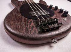 BassMan, a state of art bass, based on classic Musicman style.