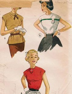 1950s Simplicity 4334 Vintage Sewing Pattern by midvalecottage, $12.00