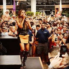 #wce #wcw goes to this gorgeous #boss @ciara ... If you've never seen her live, you need to get your life together and go ☝🏾️😊. It is worth every penny!!! This pic is from a performance post engagement #2016 at @marqueelv . It was #lit !! Can't wait for what's next #ciara #csquad #teamciara #ciarawilson #thewilsons #russci #russellwilson #vegas #rockstar #tbt #fbf #onewomanarmy #queen 👑🎤💃🏽 @hm