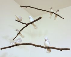 tree branch mobiles