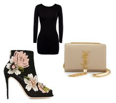 """Untitled #140"" by tierrabrown75 on Polyvore featuring Dolce&Gabbana and Yves Saint Laurent"