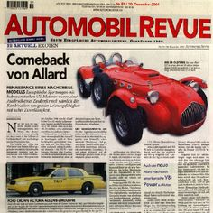 Automobil revue - 2001