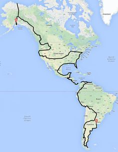 Map, Route, Overland, Motorcycle, When you have time. Travel Route, Places To Travel, Travel Destinations, Places To Go, Car Travel, Motorcycle Camping, Camping Gear, Moto Bike, Motorcycle Adventure
