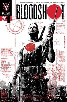 Bloodshot #1 (2012) - David Aja