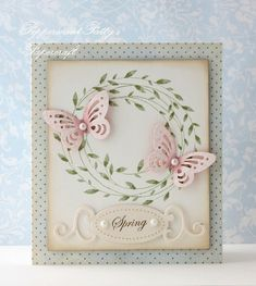 Hi!   I just LOVE this wreath stamp from Hero Arts - I think it was released for a Christmas many years ago, but I think it s wonderful ...