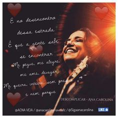 """Nova música de Ana Carolina """"descomplicar"""""""