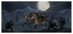 Evil by the stones - Middle-earth inspired artwork by Shockbolt.deviantart.com on @deviantART