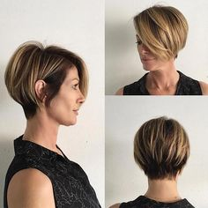 Popular Short Stacked Haircuts You will Love  58723a8e88f3