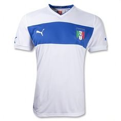 Puma inspired by the past for Italy Euro 2012 away shirt. For detailed review and more images click on the image. :)