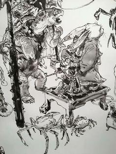 Drawing Show at Angoulême ComicCon 2016 #kimjunggi #drawing #livedrawing #illustration #comiccon