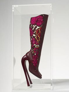 Yinka Shonibare MBE, Fetish Boots, 2011, photograph Stephen White...I really want to see someone walking in these....sheesh