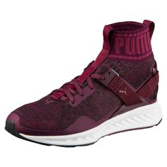 132c32d9370b Puma Ignite 3 EVOknit Casual Women Shoes Sneakers Size to 10 Winetasting NEW