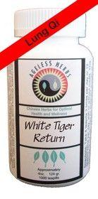Ageless Herbs Organic Chinese Herbal Supplements-TCM - White Tiger Return Formula - Lung Qi Support Supplement, $62.00 (http://agelessherbs.com/white-tiger-return-formula-lung-qi-support-supplement/)
