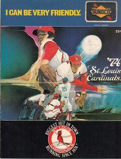 1974 Cardinals Scorecard