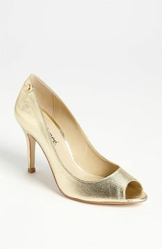 6f83a0491dd8 J. Reneé 'Evon' Pump available at #Nordstrom Golden Shoes, Napa Leather