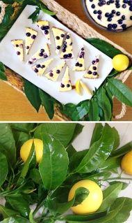 Recept na cheesecake - můj oblíbený citrónový s borůvkami Pudding, Ethnic Recipes, Desserts, Food, Fitness, Per Diem, Lemon, Tailgate Desserts, Puddings