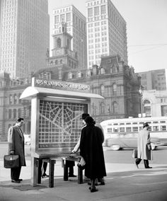 Historical Photo: Detroit Department of Street Railways (DSR) Coach and Car Stop Locator, c. 1955 An interesting twist on the old push-button interactive transit map. Instead of pressing a button to map out your route, here you press a button to find...