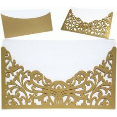 Silhouette Design Store - View Design #68291: flourish envelope