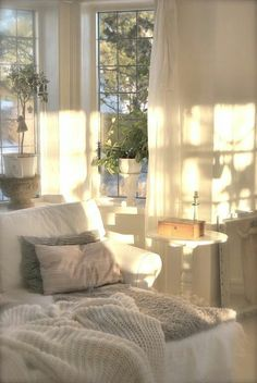 Warm sunlight ...