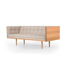 Box Sofa Large - Oak - ALL - SEATING