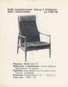 FOTEL GFM-64 (1965) Edmund Homa