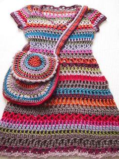 omⒶ KOPPA: Hippimekko - colored dress and bag