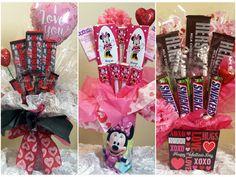 Prices start at $25. Prices range from $25-55. Bouquets can be done in all Chocolate, Non Chocolate, or a mix If interested please message me over at: 1ChicNCraftyMama.... FB.com/1ChicNCraftyMama