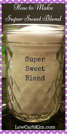 Super Sweet Blend Trim Healthy Mama on plan sweetener THM