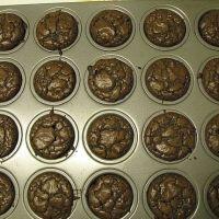 Brownie bites from a box mix - 15 min. 2 Bite Brownies, Cake Mix Brownies, Mini Brownies, How To Make Brownies, Brownie Cupcakes, Boxed Brownie Recipes, Brownie Ideas, Cookie Recipes, Ghirardelli Brownie Mix