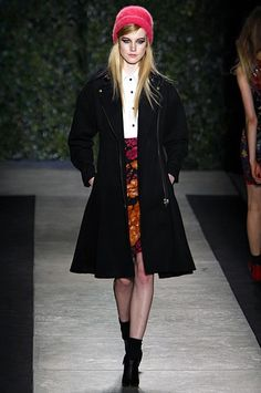 Fall 2013 Runway Report: The Best Hats From New York Fashion Week | StyleCaster