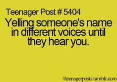 oh Gosh yes! all the time! did you know quiet whispers work the best? I'm serious