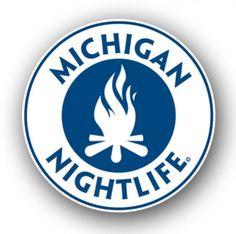 Michigan Nightlife Sticker