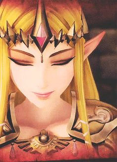 Hyrule Warriors --Zelda! I LOVE purple eyes!