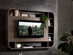 VISION TV Mueble TV con estantería by Pacini & Cappellini