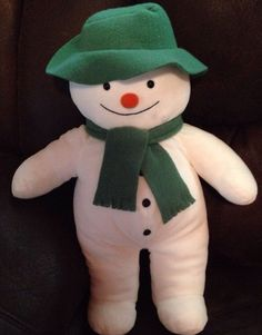 EDEN X-large 21 Inches THE SNOWMAN Raymond Briggs Plush Stuffed Toy #Eden