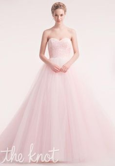 blush pink gown :-)