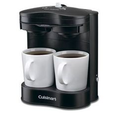 Conair Cuisinart WCM11 2-Cup Coffeemaker Black Finish - http://teacoffeestore.com/conair-cuisinart-wcm11-2-cup-coffeemaker-black-finish/