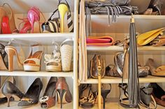 Shoes & More Pretty Shoes in Mayme Baker's Closet! Via House of Fifty magazine
